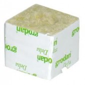 "Grodan DU4G 3"" cubes No /Hole"