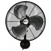 Hurricane® Pro High Velocity Metal Wall Mount Fan 20 in