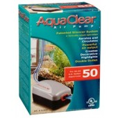 AquaClear 50 Air Pump - 75.7 to 190 L (20 to 50 U.S. gal.)